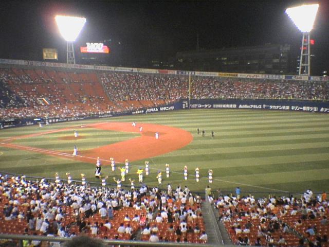 横浜5―13中日
